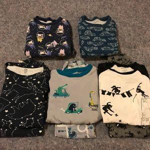 Boy's Lot of Size 7 Gymboree Pajamas